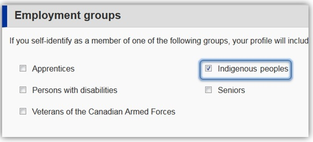 Indigenous employment group