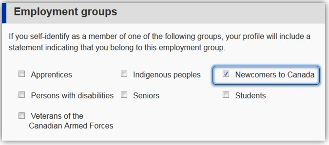 newcomers employment group